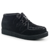 V-CREEPER-662 Black Vegan Suede